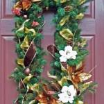 Square Christmas Wreath