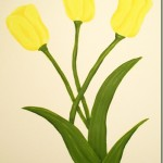 How to Paint Tulips