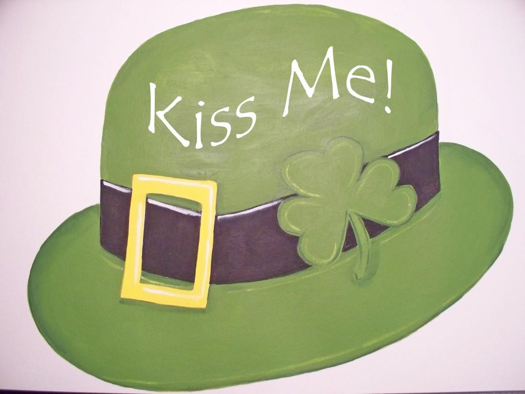 St. Patricks paint craft