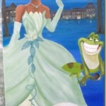 Princess and The Frog Mural