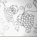 Grape and Grape Leaf Patterns