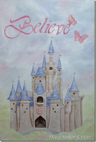 Storybook Castle Wall Hanging