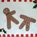 How to Paint a Gingerbreadman