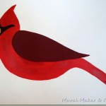 How to Paint a Simple Cardinal