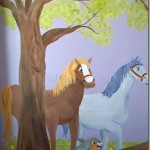 disney inspired mural