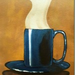 How to Paint a Coffee Cup