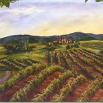 Vineyard Vista painting