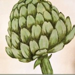 How to Paint an Artichoke