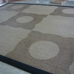 Stenciled Seagrass Rug