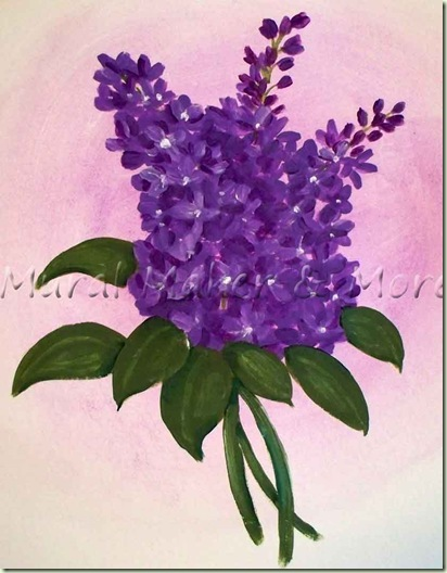 How To Paint Lilacs Just Paint It Blog