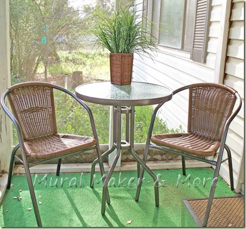 Spray Paint Patio Chairs - Just Paint It Blog