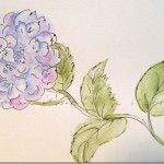 Paint Hydrangea Three Ways