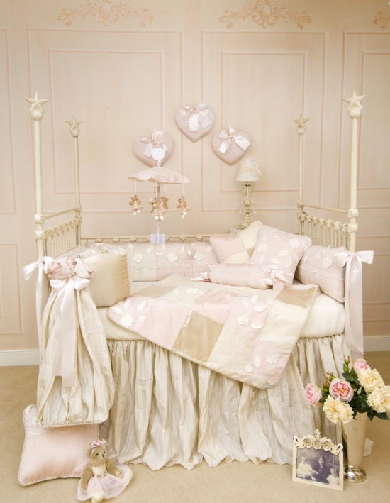 Designing a pink nursery for baby girl just paint it blog