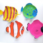kids craft tropical fish