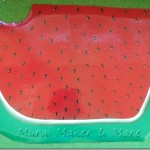 Paint a Watermelon Floorcloth