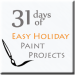 Easy Holiday Paint Projects