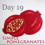 How to Paint Pomegranates