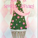 How to Paint a Simple Topiary