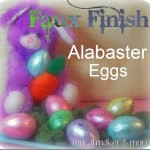 Faux Alabaster Easter Eggs