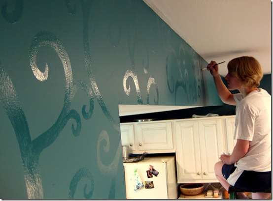 Tone On Tone Painting tone on tone wall mural - just paint it blog