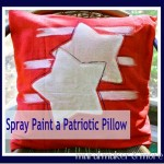 Spray Paint Pillows