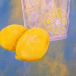 how to paint lemons