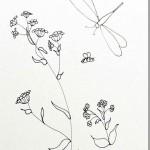 Wildflower & Dragonfly Patterns