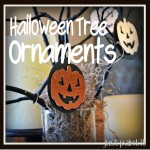 Halloween Tree Ornaments