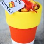 Paint Candy Corn Pot