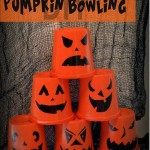 Pumpkin Bowling Craft