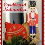 Cardboard Nutcracker with Pattern