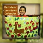 Paint a Reindeer Christmas Countdown Calendar