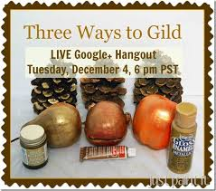 Three Easy Ways to Gild