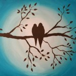 Birds on Branch Painting and Class