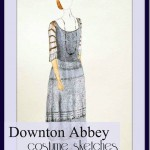 Downton Abbey Costume Illustration