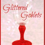 How To Glitter Goblets