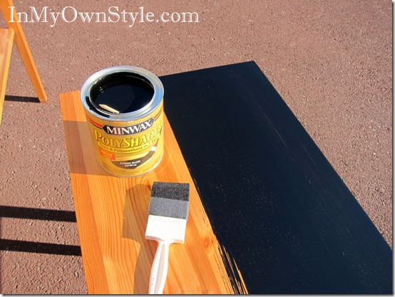 Black Stain For Painting Furniture Just Paint It Blog