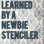 Stencil Tips