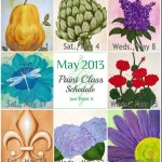 May Paint Class Schedule