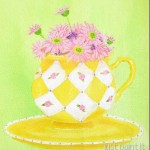 paint a pretty teacup