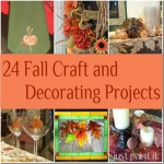 24 Fall Craft and Decorating Projects