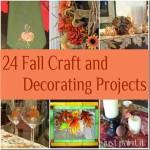 Fall Craft & Decorating