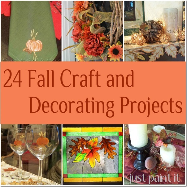 24 Fall Craft And Decorating Projects Just Paint It Blog