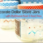 Decorate Dollar Store Jars