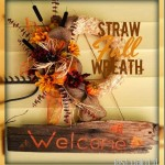 Fall Straw Wreath
