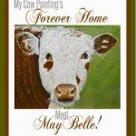 Painting of Hereford Cow