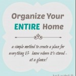 How To Organize Your ENTIRE House