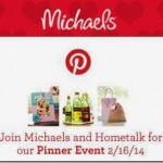 Hometalk Michael's Pinterest Party!