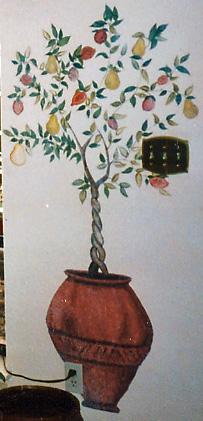 Fruit Topiary Mural