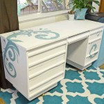Painted Desk with Chalk Paint®